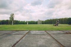 Мемориал к убитым людям, памятникам и природе Фото 20 перемещения Стоковое Фото