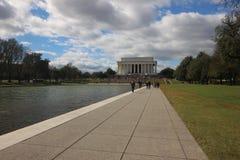 Мемориал Линкольна стоковые фотографии rf