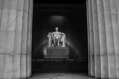 Мемориал Линкольна Стоковое Изображение
