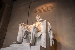 Мемориал Линкольна, DC Вашингтона Стоковое Изображение RF