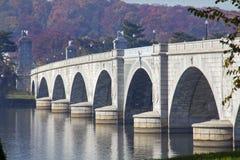 мемориал моста arlington стоковая фотография rf