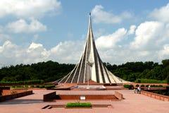 Мемориал мучеников Savar национальный, Savar Стоковое Изображение RF