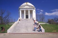 Мемориал на воисках Vicksburg национальных стоковые изображения