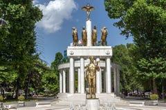 Мемориал павших героев в городе скопья, Республики Македония Стоковые Изображения