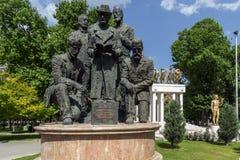 Мемориал павших героев в городе скопья, Республики Македония Стоковые Изображения RF