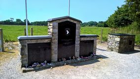Мемориал поместья Brecourt стоковая фотография