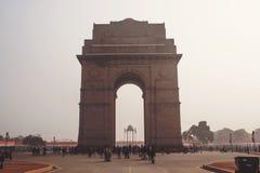 Мемориал строба Индии в Дели в Индии стоковое изображение