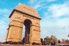 Мемориал строба Индии стоковое фото