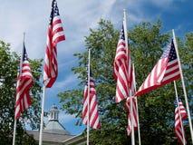 мемориал флага Стоковое фото RF
