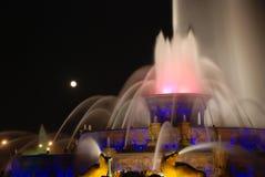 мемориал фонтана buckingham Стоковое Изображение