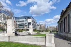 Мемориал холма башни расположенный на квадрате троицы, на холме башни в Лондоне, Англия Стоковые Фото