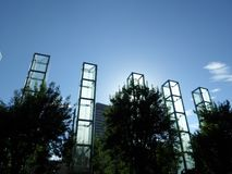 Мемориал холокоста Новой Англии, Бостон, Массачусетс, u S A стоковая фотография