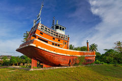 Мемориал цунами в Baan Nam Khem Стоковое Изображение RF