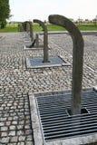 мемориал auschwitz стоковое изображение