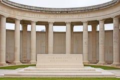 мемориал cambrai стоковые изображения rf