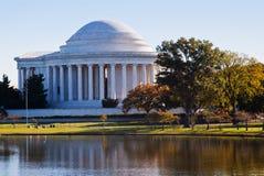 Мемориал Jefferson Стоковые Изображения RF