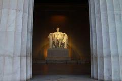 Мемориал Lincoln, Вашингтон, DC Стоковая Фотография RF