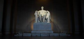 Мемориал Lincoln, Вашингтон, DC Стоковое Фото