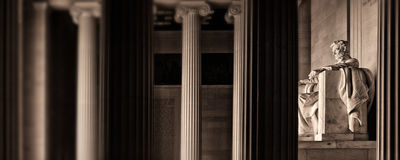 Мемориал Lincoln Стоковые Фото