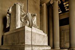 Мемориал Lincoln Стоковая Фотография RF