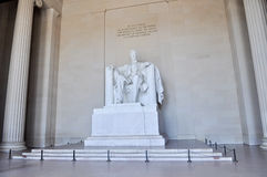 Мемориал Lincoln Стоковые Изображения RF