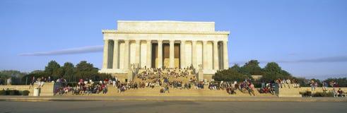 Мемориал Lincoln Стоковое Изображение