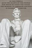 Мемориал Lincoln Стоковые Изображения