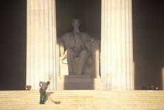 Мемориал Lincoln Стоковое фото RF