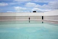 Мемориал Monumento Combatentes Ultramar, Лиссабон Стоковые Изображения RF