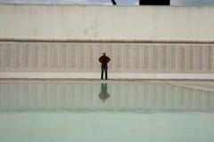 Мемориал Monumento Combatentes Ultramar, Лиссабон Стоковое Изображение