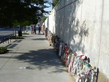 мемориал oklahoma города бомбометания Стоковое фото RF