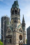 мемориал wilhelm kaiser церков стоковые фотографии rf