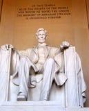 Мемориал Авраама Линкольна Стоковое Изображение