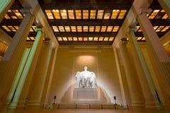 Мемориал Авраама Линкольна Стоковое фото RF