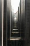 Мемориал Берлина для убитых евреев Европы Стоковые Фотографии RF