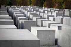 Мемориал Берлин холокоста Стоковая Фотография