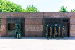 Мемориал Вашингтон Франклин Делано Рузвельт Стоковое Фото