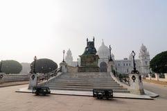 Мемориал Виктории, Kolkata, Индия - исторический памятник. стоковая фотография rf