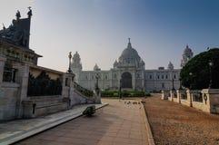 Мемориал Виктории, Kolkata, Индия - исторический памятник. стоковые фотографии rf