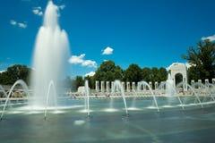 Мемориал Второй Мировой Войны в d.c. Вашингтона. Стоковое Фото