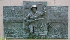 Мемориал Второй Мировой Войны Стоковое Изображение