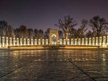 Мемориал Второй Мировой Войны Стоковая Фотография