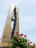 Мемориал 911 в Байонне Нью-Джерси Стоковое фото RF