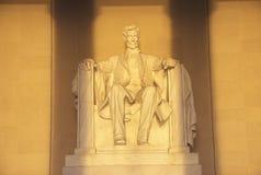 Мемориал в утре, Вашингтон Lincoln, d C Стоковое Изображение RF