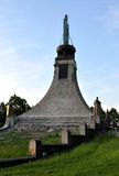Мемориал, деревня Prace, Моравия, чехия, Европа стоковые фото