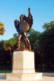 Мемориал защитников Confederate, Charlestown стоковые изображения