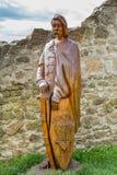 Мемориал капитана замок Szigliget в Венгрии, 13 может 2016 Стоковые Изображения RF