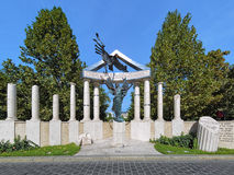 Мемориал к жертвам немецкого занятия в Будапеште Стоковая Фотография RF
