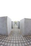 Мемориал к убитым евреям Европы, Берлина, Германии Стоковые Изображения
