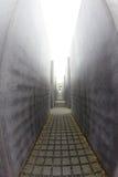 Мемориал к убитым евреям Европы, Берлина, Германии Стоковые Изображения RF